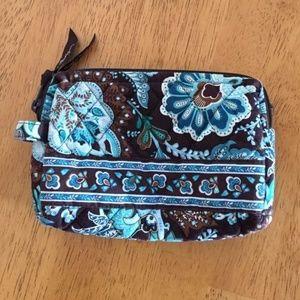 Vera Bradley Java Blue Small Cosmetic Bag